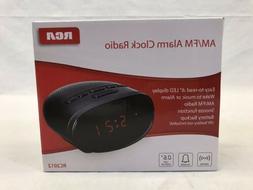 """RCA Alarm Clock AM/FM Radio 6"""" LED Display Option Sleep Time"""