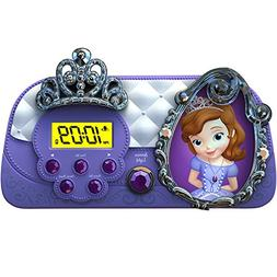 alarm clock for teens Sofia the First Night Glow Character g