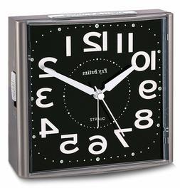 Alarm Clock for Bedrooms,Analog Silent Alarm Clock Non Ticki