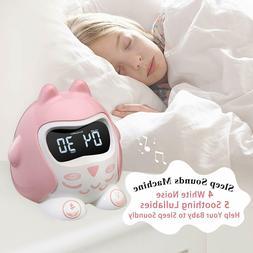 Alarm Clock for Kids Bedrooms, Children's Sleep Trainer, Tod