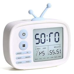 Alarm Clock for Kids, One Fire LED Digital Alarm Clock with