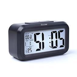 Alarm Clock, winfi Large LCD Display Digital Alarm Easy to W