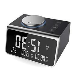 Digital Alarm Clock, Upgraded Dual Alarm Clock Radio Indoor