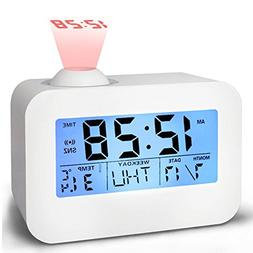 Alarm Clocks for Bedrooms, Bidason Cool Digital Snooze Proje