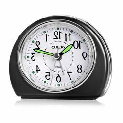 Alarm Clocks For Bedrooms, Meko Small Battery Powered Travel