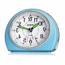 Alarm Clocks Non-Ticking for Bedrooms, MEKO Smart Tickless A