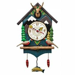 Allen Designs Mountain Time House Pendulum Clock
