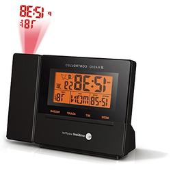 Ambient Weather RC-8427 Radio Controlled Projection Alarm Cl