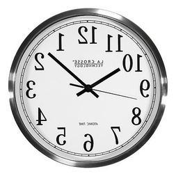 La Crosse Technology Analog Atomic Wall Clock, 1 ea