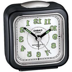 Casio Analog Travel Beep Alarm Clock TQ157-1 LED Illuminator