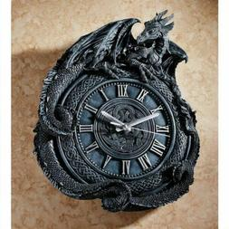Antiqued Celtic Knot Penhurst Dragon Wall Clock By Artist Li