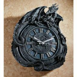 "Celtic Knot Penhurst Dragon Wall 17.5"" Clock Replica By Liam"