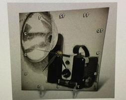 3dRose app Picture of a Vintage 1950s Camera with Bulb Flash