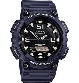 Casio Men's AQ-S810W-2A2VCF Tough Solar Analog-Digital Displ