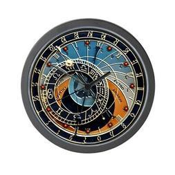CafePress Astronomical Clock Prague Wall Clock