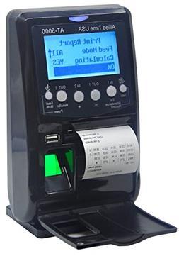 AT5000 Fingerprint Badge Employee Time Clock with Printer, B