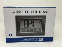 ACU RITE ATOMIC ALARM CLOCK with Date, Day of Week and Indoo