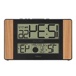 La Crosse Technology 513-1417 Atomic Digital Clock with Outd