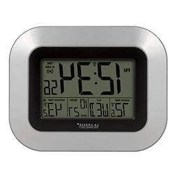La Crosse Technology Atomic Digital Wall Clock, Indoor and O