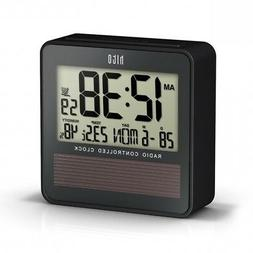 Hito™ Atomic Radio Controlled Travel Alarm Clock W/ Date,