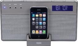 Audiovox RCA RC65i iPod & iPhone 3G Docking Clock Radio - Du