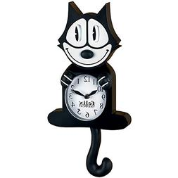 Felix Animated Clock With Moving Eyes & Tail