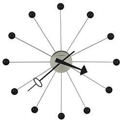 "Ball Clock II 42"" Modern Wall Clock NO TAX"