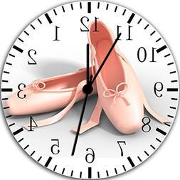 Ballet Shoes Frameless Borderless Wall Clock Y121 Nice for G