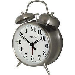 Westclox 70010 4.5-Inch 2-Bell Quartz Alarm Clock