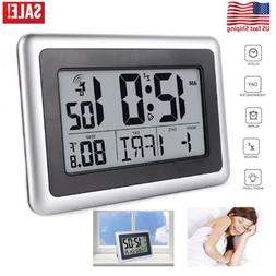 Best Digital Atomic Desk & Wall Clock With Date Temperature