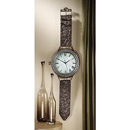 Design Toscano The Big Time Wrist Watch Wall Clock
