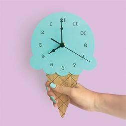 Big Wall Clocks Decorative Living Room Ice Cream Wall Clock