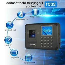 Biometric Fingerprint Password Checking-in Attendance Machin