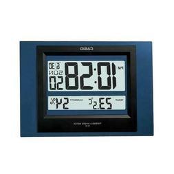 Casio Blue Resin Wall Clock ID16-2D ID-16-2D