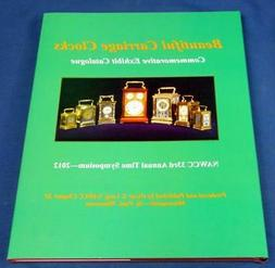 """BOOK """"BEAUTIFUL CARRIAGE CLOCKS"""" HARDBOUND COLOR 80 PAGES CL"""