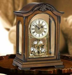 bulova crystal pendulum clock