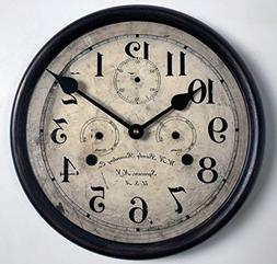 Bundy Wall Clock, Available in 8 Sizes, Most Sizes Ship 2-3