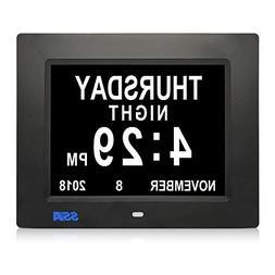 SSA 5 Alarm Options Day Clock Battery Backup Extra Large Imp
