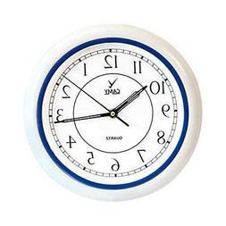 CAMY Wall Clock, 10 Inch Super Silent Non Ticking - Quartz B