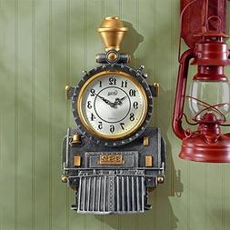 Design Toscano Casey Jones Steam Locomotive Sculptural Wall