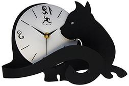 Cat lovers Table, desk, shelf, gift, clock analog