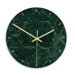 CC009 Light Luxury Marble Wall <font><b>Clock</b></font> Acr
