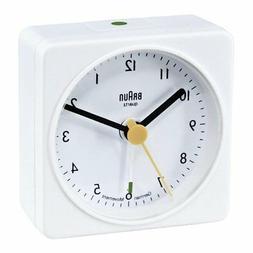 Braun: Classic Travel Alarm Clock - White