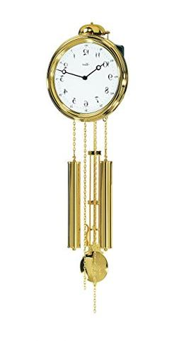 Hermle Classic Wall Clock with 8-Day Weight-Driven 1/2 Hour