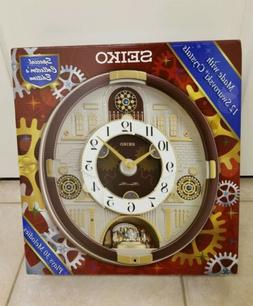Seiko clock  Melodies in Motion  Special Limited Edition New