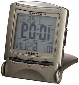 CASIO travel clock PQ-50J-8 display metallic gray Digital