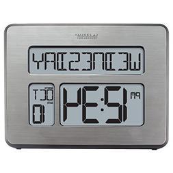 Digital Clock, Atomic Full Calendar, Extra Large Digits, Per