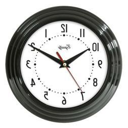 Ns Wall Clock Black 8