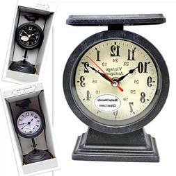 Clocks for Mantle Desk Shelf Travel Alarm Home School Office