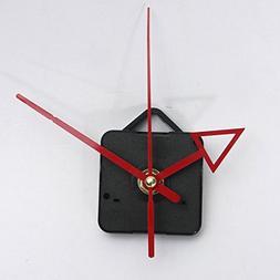 Clocks - Diy Red Hands Quartz Clock Wall Movement Mechanism